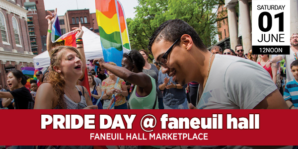 Pride Day at Faneuil Hall