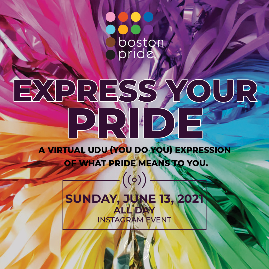 Express Your Pride Campaign - A virtual UDU (You Do You) expression of what Pride means to you.