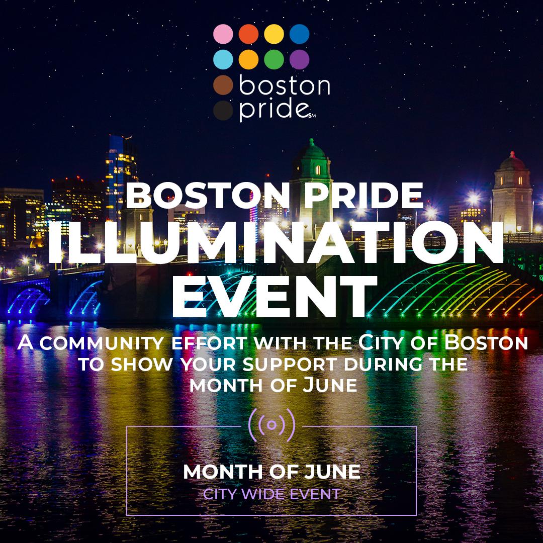 Boston Pride Illumination Event
