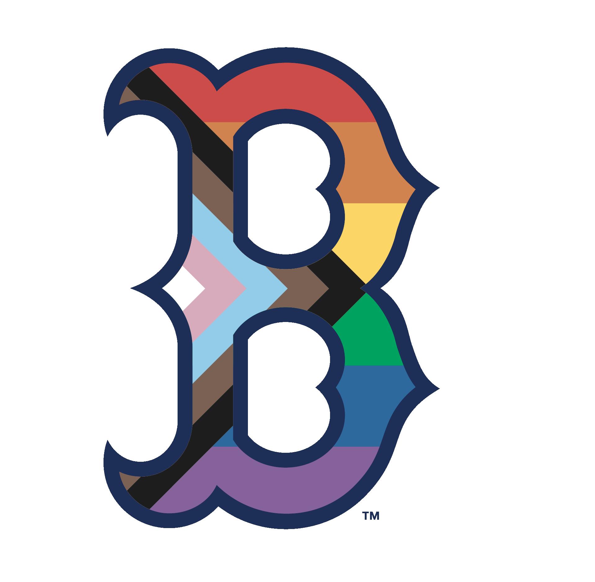 Boston Red Sox Pride Logo