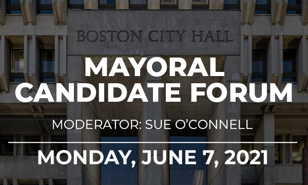 Boston Pride is hosting a virtual forum for the six major candidates in the Boston Mayoral race on June 7th, 2021 at 7pm.