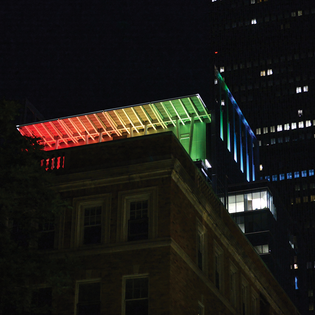 Boston Pride Prudential Tower Lighting - Illuminate Pride