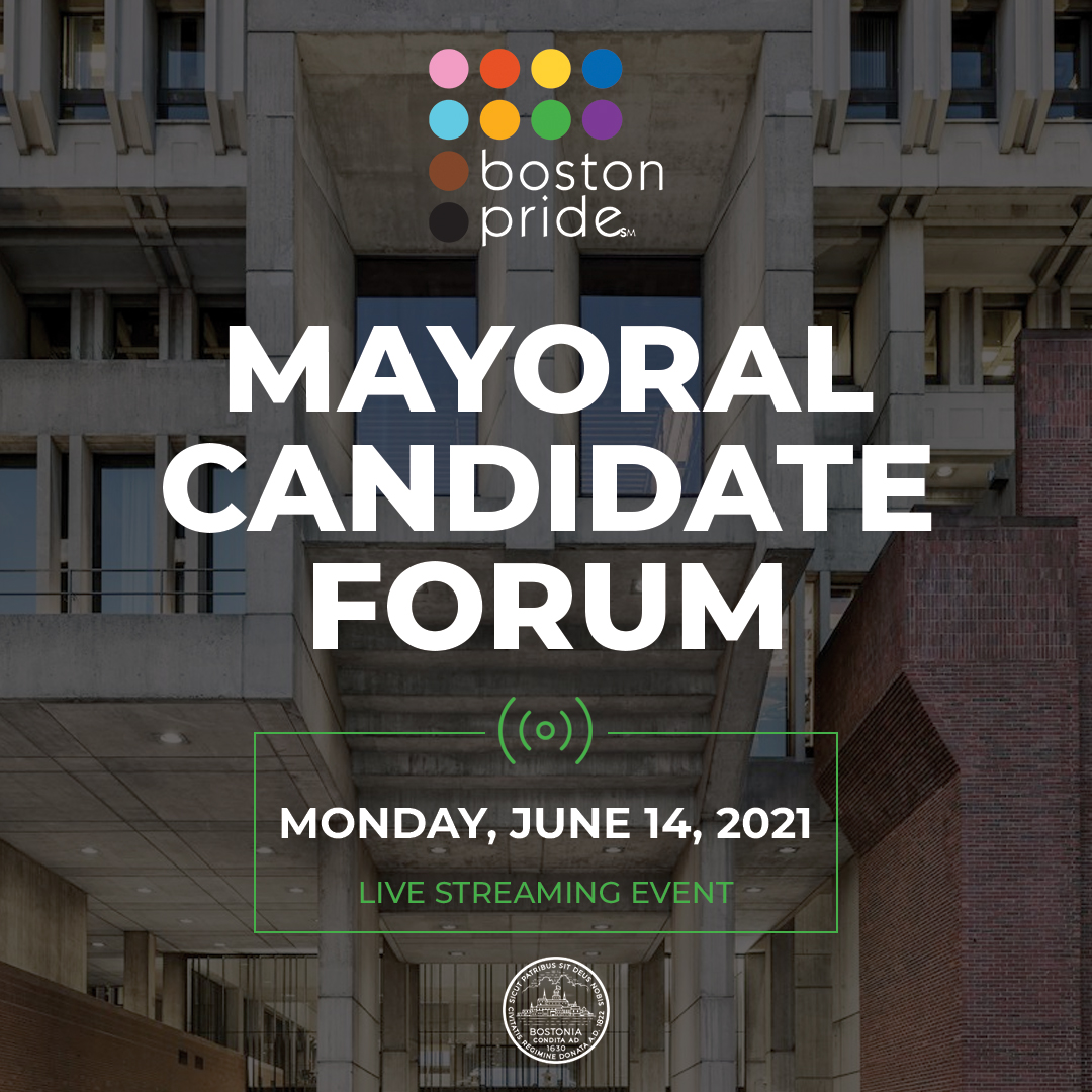 Boston Pride Mayoral Candidate Forum Virtual Event