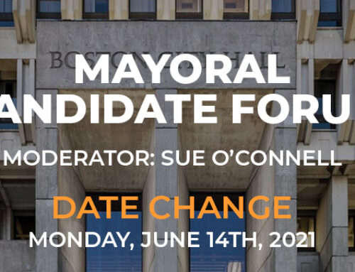 Boston Pride Will Move Boston Mayoral Candidate Forum to June 14 at 8pm
